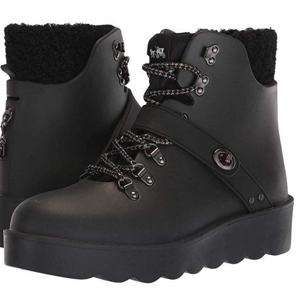 Coach Women's Urban Waterproof Hiking Boots. 8B